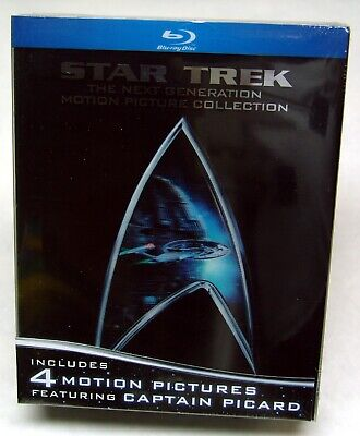 Star Trek: The Next Generation - Motion Picture Collection (Blu-ray Disc, 2009)