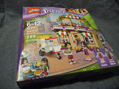 Lego Friends Heartlake Pizzeria 41311 Set Damaged Box 289 Pcs Emma