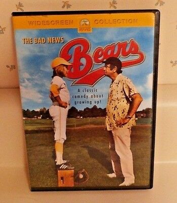 The Bad News Bears (DVD, 2001) G, Widescreen