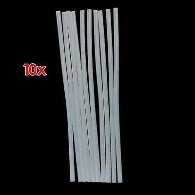 10pcs Translucence Hot Melt Glue Sticks Size 270mm x 7mm L3U5