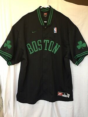 8486e1607ba Boston Celtics Authentic Warm Up  REWIND 1963  Throwback Jacket by NIKE  Large XL