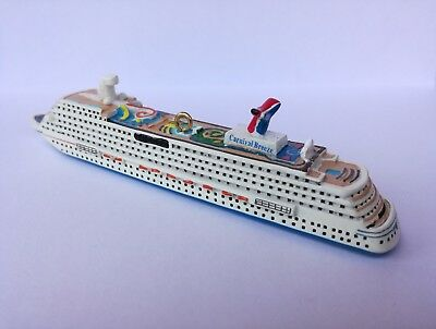 Carnival Breeze Mini Cruise Ship Model Official Carnival Hanging Ornament