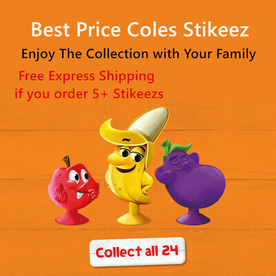 Coles Fresh Stikeez - Best Price Coles Mini Little Shop Collection Gift Toy