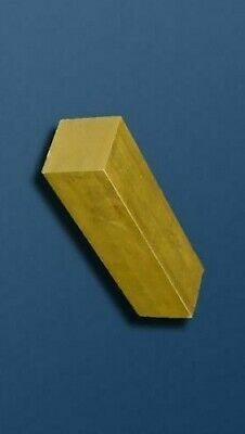 cheap -SOLID BRASS SQUARE BAR/ROD -  many Lengths & diameters - lathe milling