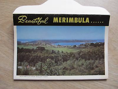 Vintage C1950's John Sands Colour & B/W View Folder beautiful MERIMBULA NSW