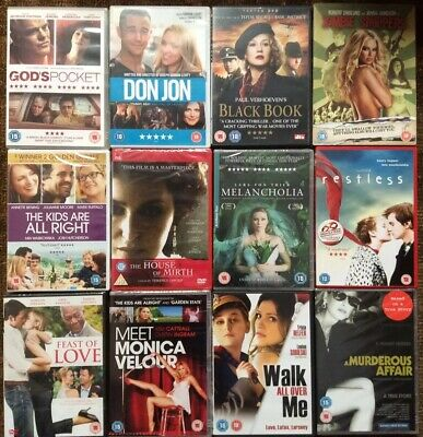 Adult Movie DVD Collection (12 DVDs)