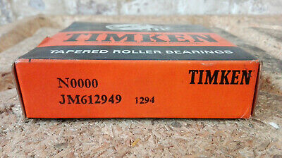 Timken Conical Roller Bearing / Type: Jm612949/70x115x29 (mm) / New/Sealed