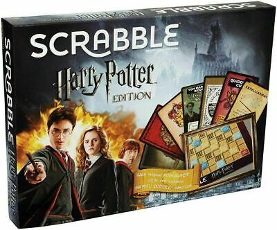 Scrabble DPR77 Harry Potter Edition Game NEW