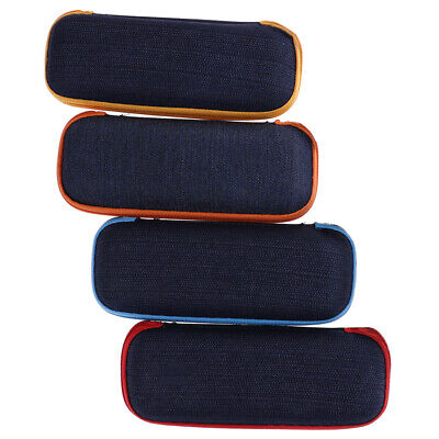 Portable rectangle grid zipper glasses case hard eyewear box for sunglas Pip JH