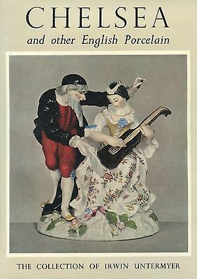 Antique English Chelsea Porcelain / Massive Illustrated Book - 433 Pages!