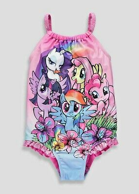 My Little Pony Swim Costume Girls Toddler Infant Baby Kids MLP Wear