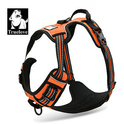 True Love Adjustable Soft Padded 3M Reflective Dog Harness