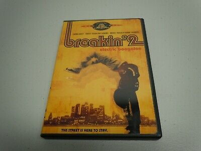 Breakin' 2 Electric Boogaloo (DVD, Full Frame, 2005) Complete with Disc and Case