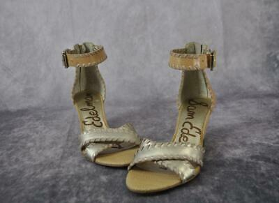 b89ff4157 Sam Edelman Gladiator Sandals Wedge Heels Tan Gold Size 6