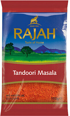 Rajah Tandoori Masala BBQ Marinade Dry Mix Available in 100G/200G/400G