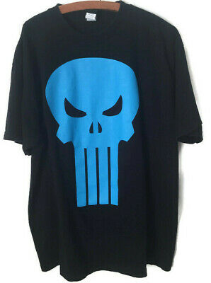 d8aaa3fe17391 MARVEL THE PUNISHER Black T Shirt Size Mens Small Mad Engine Tee NWT ...