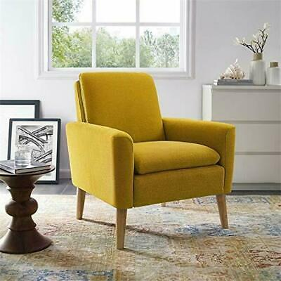 MODERN TUFTED ACCENT Arm Chair Contemporary Fabric Single Sofa ...