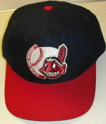 a1fb4c60 Cleveland Indians Chief Wahoo Vintage 90s Snapback hat (THE GAME) Brand  New! MLB