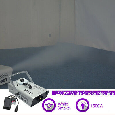 1500W 110 220V Fog Smoke Machine for Party Show Stage Light Atmospheric Effect