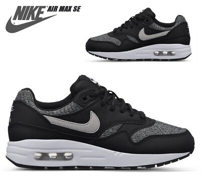 reputable site 86d21 dfae1 Nike Air Max 1 SE Winter Gr.38,5 Schwarz Grau Sneaker AJ9747-