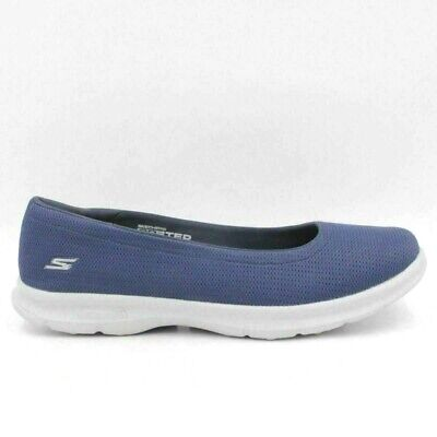 0a756653222b SKECHERS GO STEP Luxe Mesh Slip-On Ballet Shoes Sneakers Womens 8 W ...