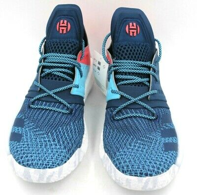 ADIDAS MVP Harden Vol. 2 Men Basketball Shoes Size 12 Blue Red White AH2216 63acc4259