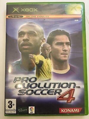 Pro Evolution Soccer 4 For XBOX - Same Day Dispatch - Free P&P