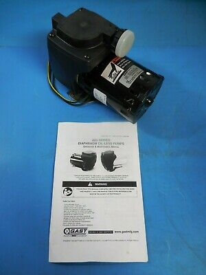 Gast 22D1180-202-1003 Miniature Oilless Diaphragm Pump