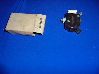 1941,1942,1946,1947,1948 chevrolet defrost switch accessory nos gm 1997715