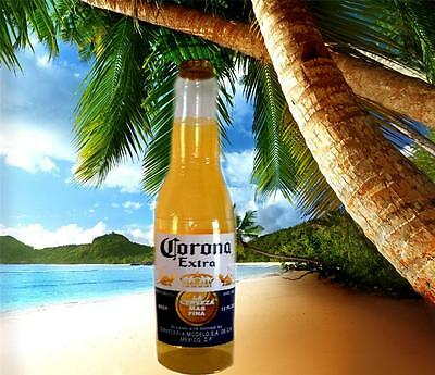 "Corona Extra Beer Hanging Standing Sign Inflatable  Bottle Blow Up New 30"" Tall"