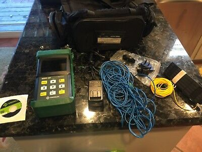 Greenlee 920XC-30F triple filt otdr fiber tool with accessories!
