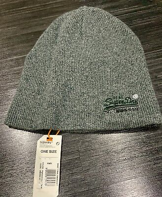 76708d21d34 SUPERDRY KNITTED WOOL Beanie Hat BNWT - EUR 4
