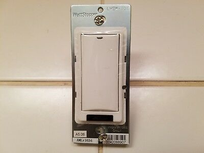 WATTSTOPPER LMSW-101-W DIGITAL Switch, 1 on, Infrared, White on