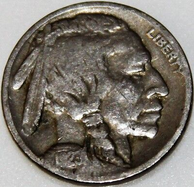 """1923-P 5C Buffalo Nickel, 17lww0708 """"Only 50 Cents for Shipping"""""""