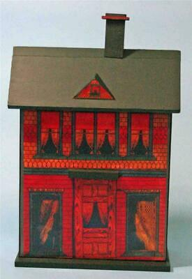 Jean Nordquist's Reproduction Bliss Dollhouse Wood Kit can display with Bleuette