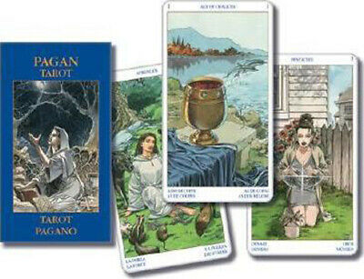 Pagan Tarot by Lo Scarabeo Staff (Cards,Flash Cards, Mini Edition) #978073871236