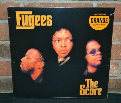 4345b96d767 FUGEES THE SCORE Limited Edition COLUMBIA RECORDS New Orange Colored ...