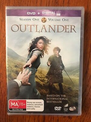 Outlander: Season One Volume One DVD New & Sealed Region 4