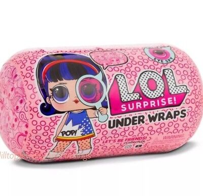 Authentic LOL Surprise! Eye Spy Under Wraps Ser 4 Wave 1 Big Sis Doll by MGA Ent