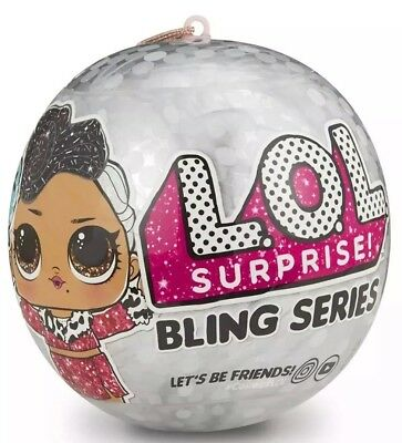Authentic LOL Surprise! Bling Series Big Sis Glitter Doll Ball by MGA - IN HAND!