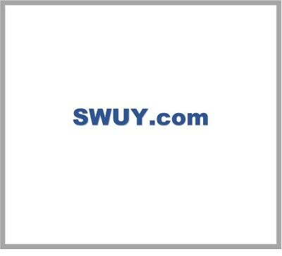 SWUY.com ~ Short Premium Pronounceable Domain Name ~ BRANDABLE LLLL 3 4 5 letter