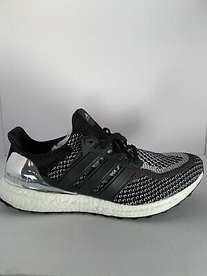 23e03ac6472 Adidas Ultra Boost Silver Medal LTD Olympic Metallic Black Size  10.5