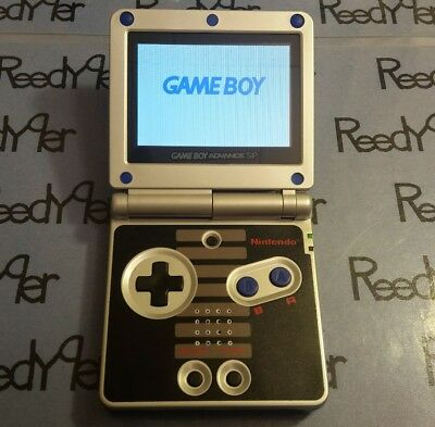 BLUE NES Classic Edition AGS-101 *MINT GameBoy Advance SP Bright Nintendo System