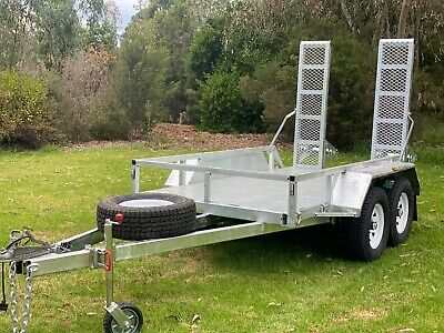 8X5 Machinery Hot Dip Galvanised Trailer 3200 Kg Atm On Sale Now