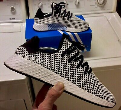 88d3cdd2b Adidas Deerupt Runner Mens Size 12   CQ2626   Core Black-White   Brand New