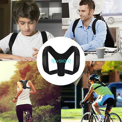 New Adjustable BodyWellness Posture Corrector Breathable Orthotics Braces