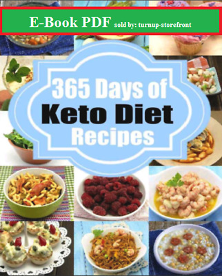 | E-Book PDF | Ketogenic Diet: 365 Days of Low-Carb, Keto Diet Recipes for Rapid