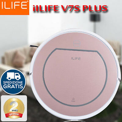 ILIFE V7S Pro PLUS, Robot Vacuum Cleaner Aspirapolvere Mopping 0.3L OBS NUOVO IT