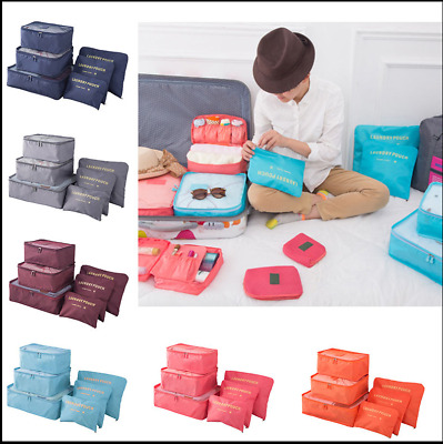 Bags Laundry Pouch Clothes Storage Bags Packing Cube Travel Luggage Organizer