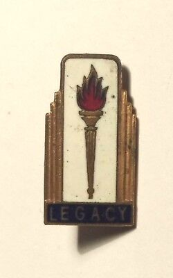 20/-  Shilling Legacy Pin / Badge Marked D N T